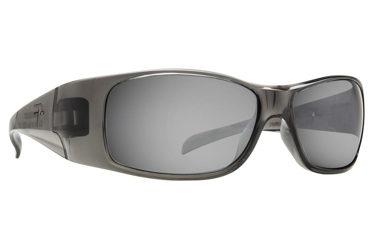 Fatheadz Power Trip Gray Sunglasses