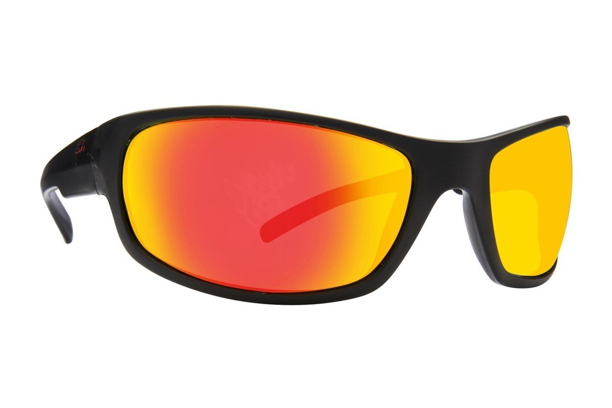 Fatheadz Slash Black Sunglasses