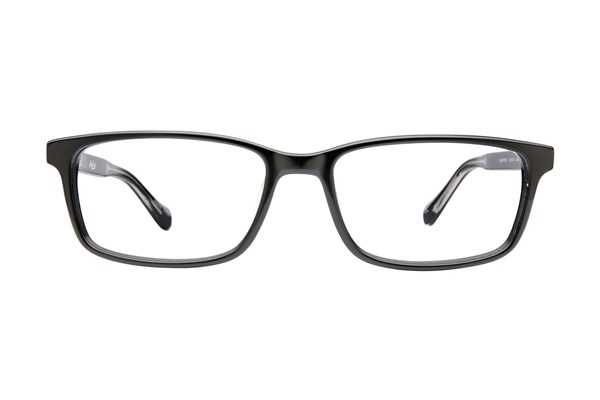 Lucky Beach Front Black Eyeglasses
