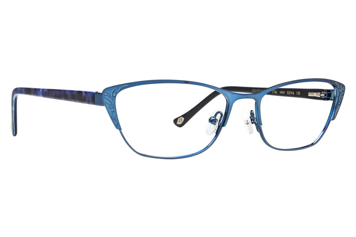 Lulu Guinness L762 Eyeglasses - Blue