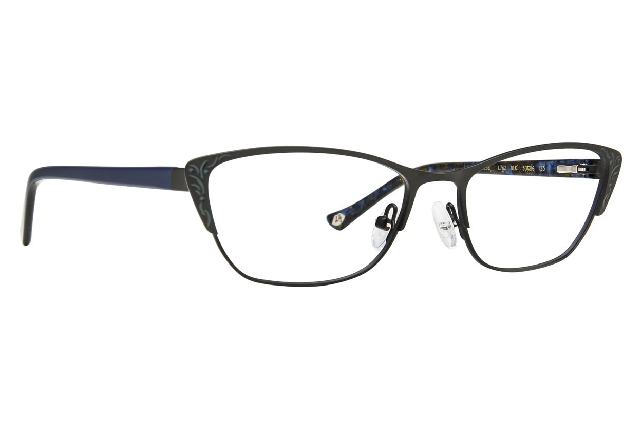 Lulu Guinness L762 Eyeglasses - Black