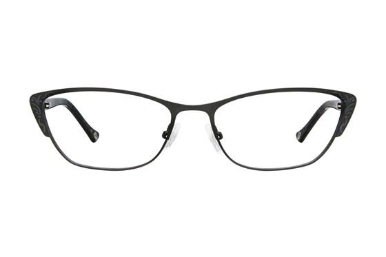 Lulu Guinness L762 Black Eyeglasses
