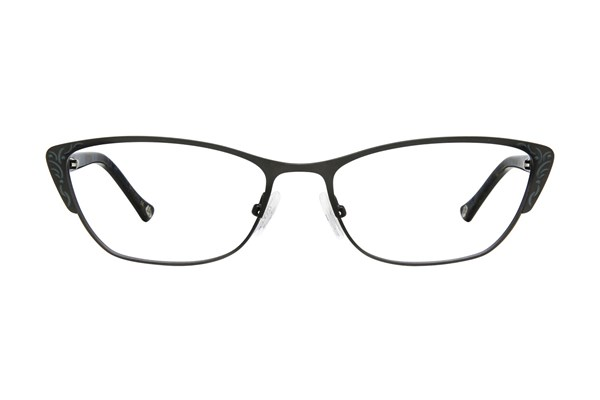 Lulu Guinness L762 Black Eyeglasses