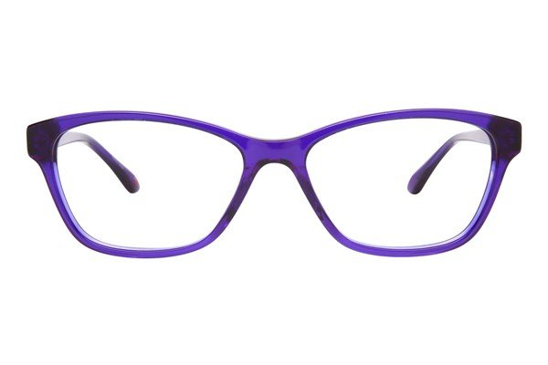 Lulu Guinness L886 Eyeglasses - Purple