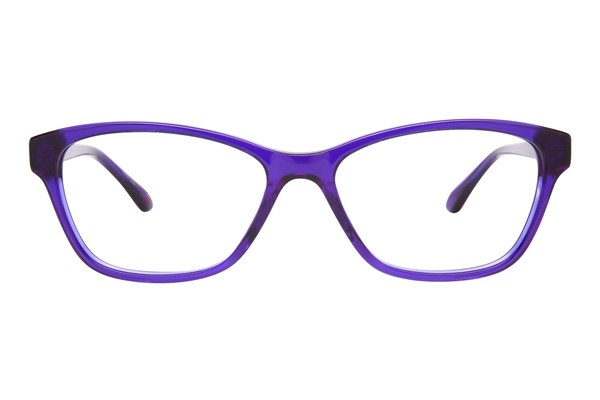Lulu Guinness L886 Purple Eyeglasses