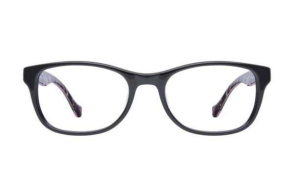 Lucky D200 Eyeglasses - Black