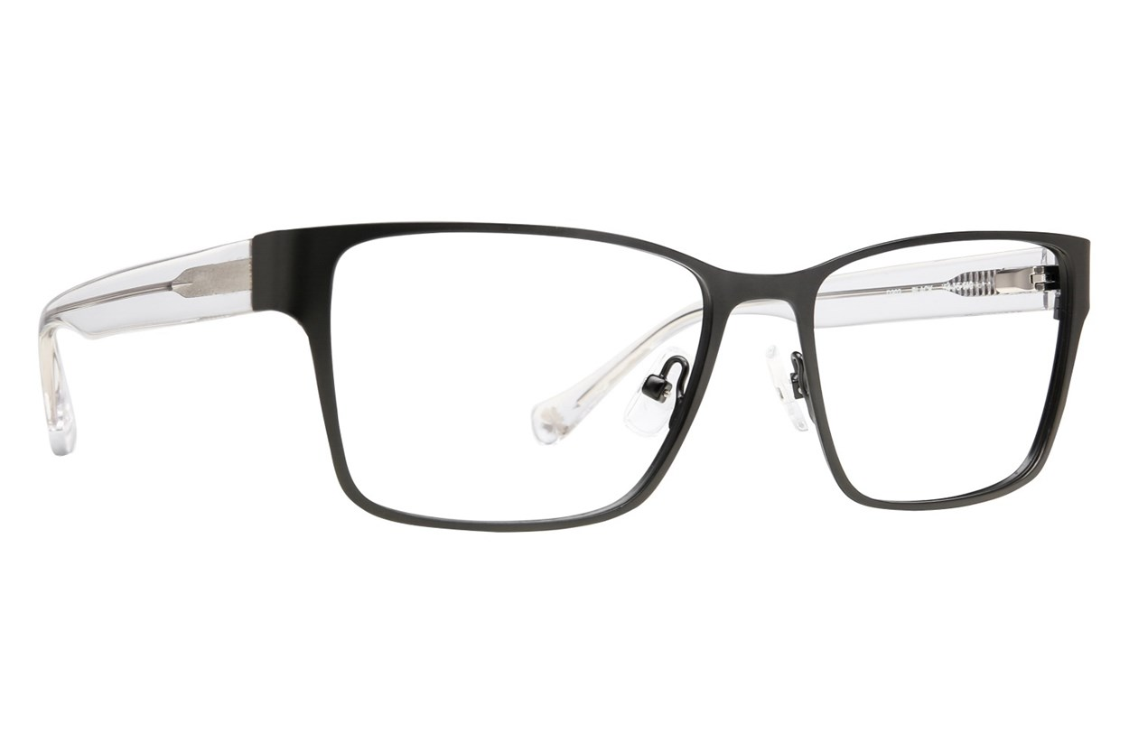 Lucky D302 Eyeglasses - Black