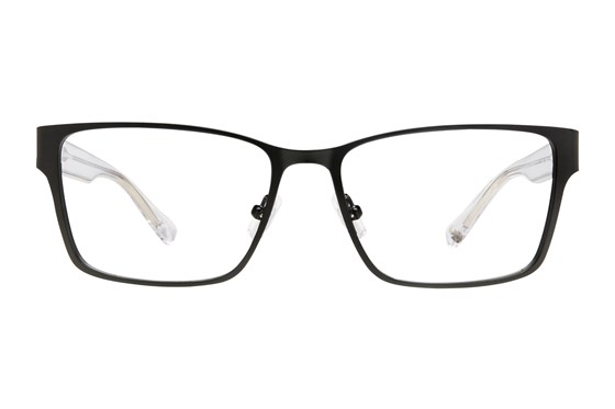 Lucky D302 Black Eyeglasses