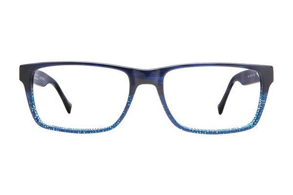 Lucky D401 Eyeglasses - Blue