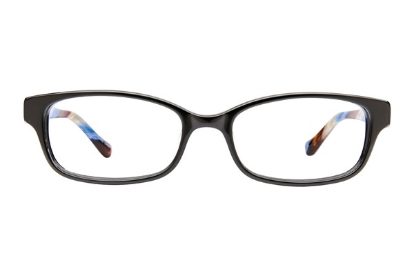 Lucky Seascape Eyeglasses - Black