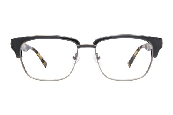 John Varvatos V153 Eyeglasses - Black