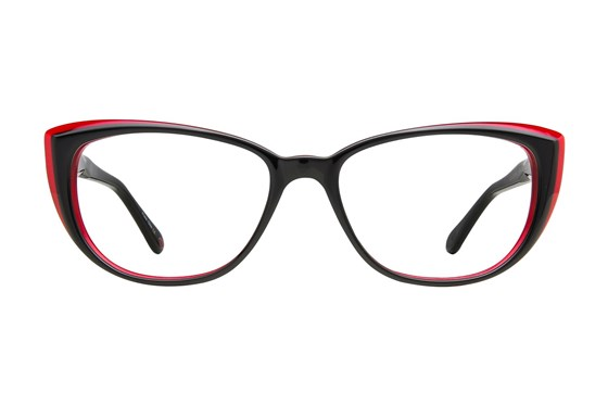 Lulu Guinness L890 Black Eyeglasses