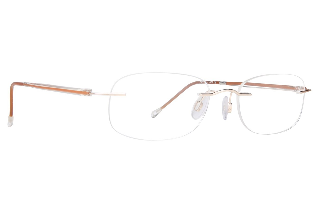 Invincilites Sigma H Brown Eyeglasses