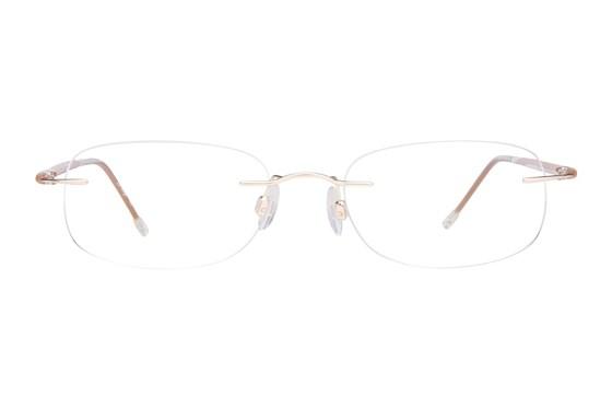 Invincilites Sigma H Tan Eyeglasses
