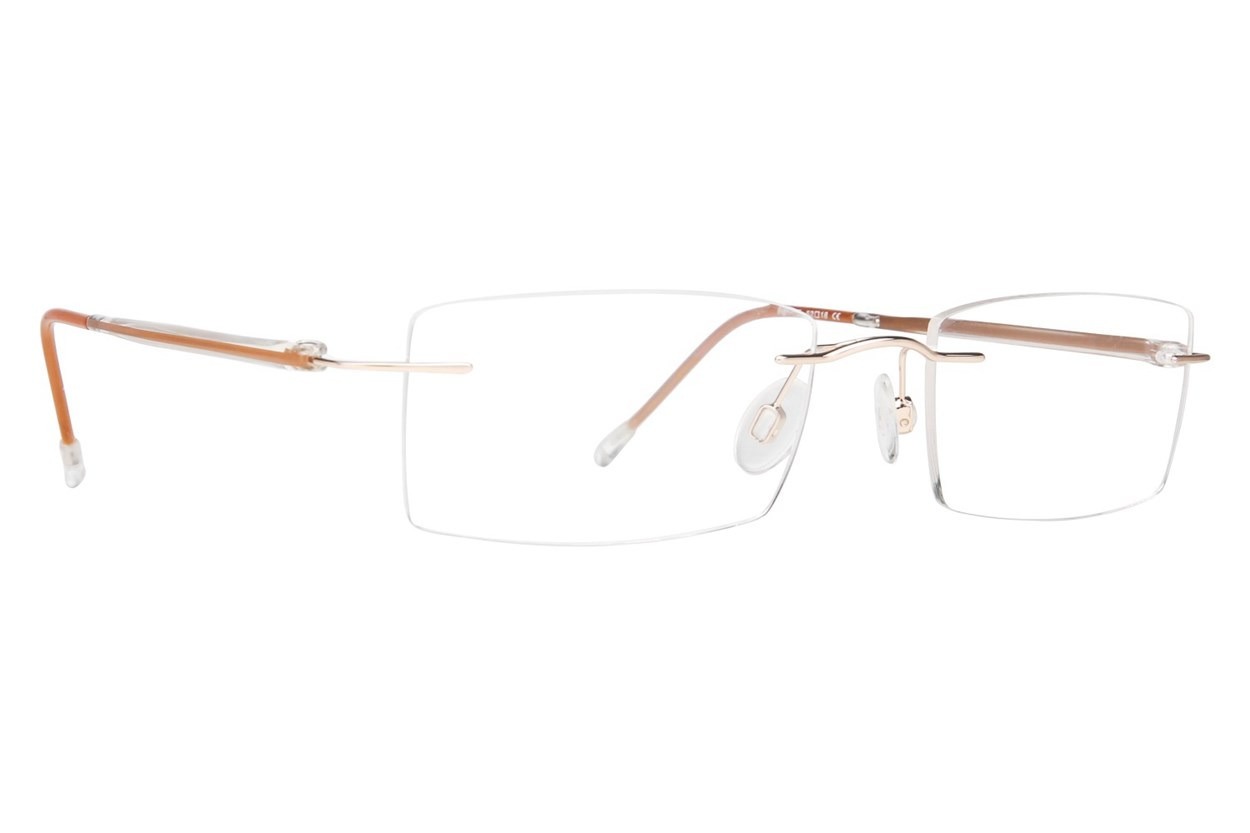 Invincilites Sigma T Brown Eyeglasses