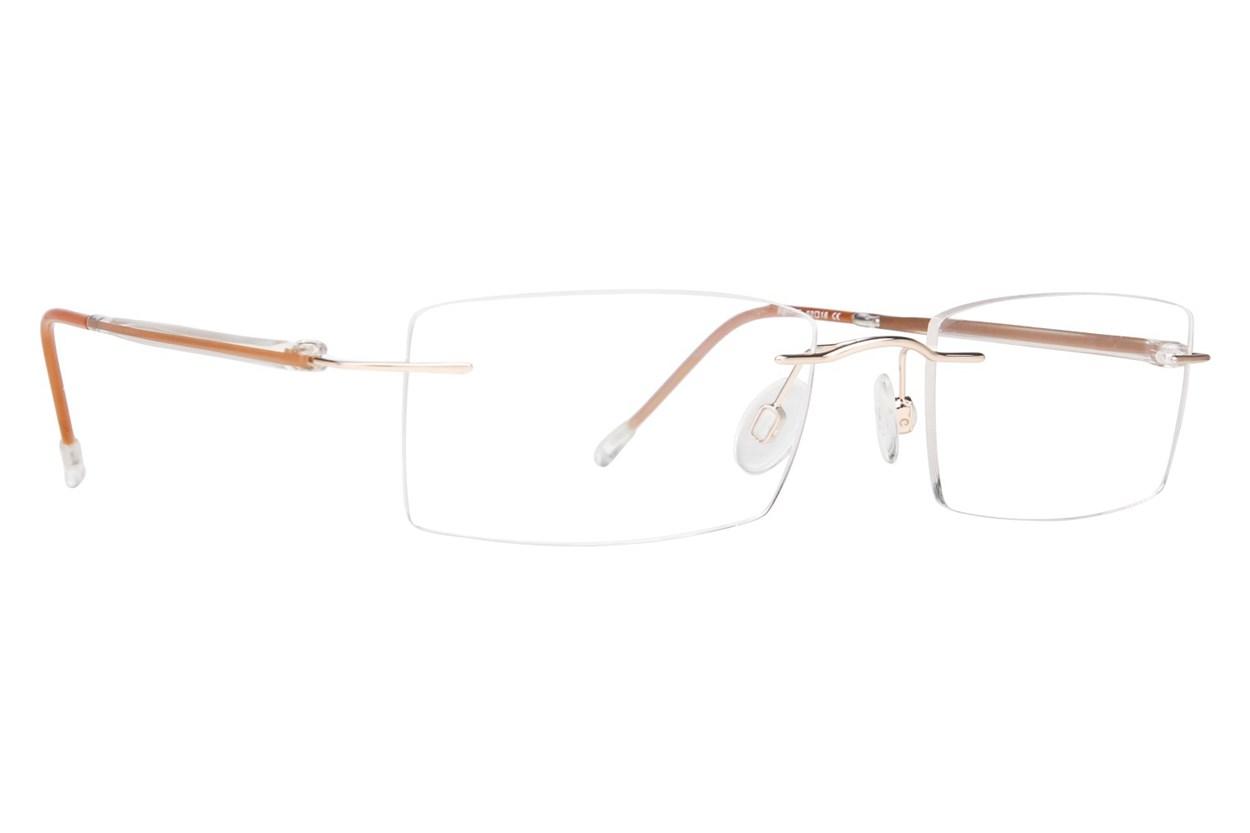 Invincilites Sigma T Tan Eyeglasses