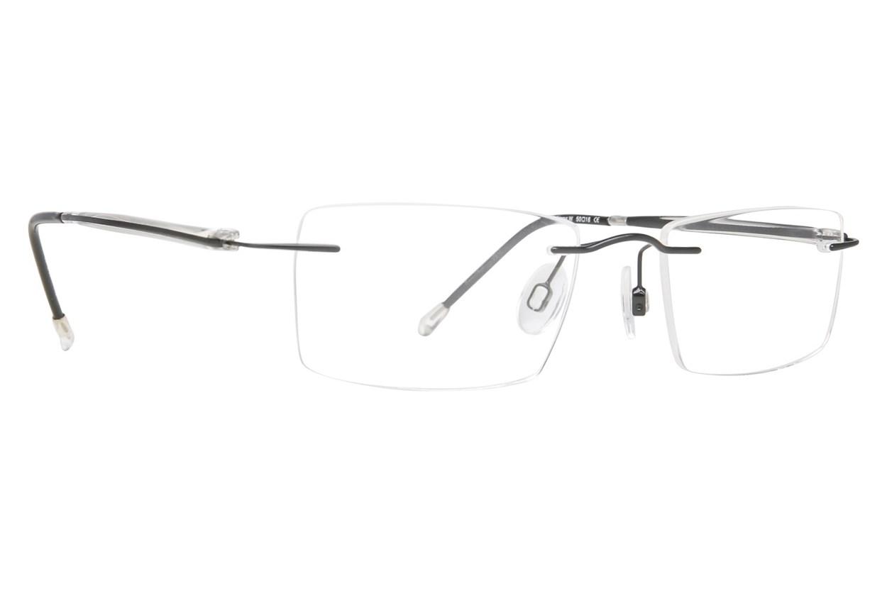 Invincilites Sigma W Black Eyeglasses