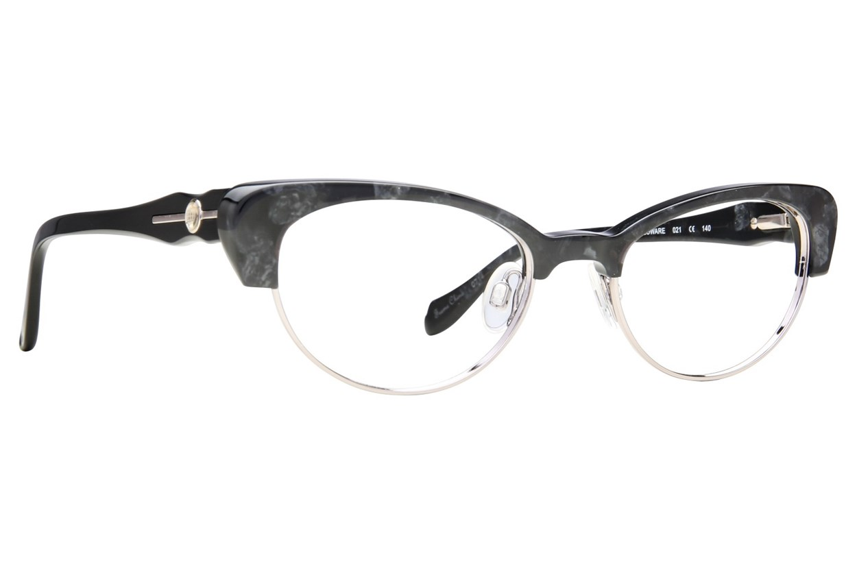 Leon Max LM 4008 Black Eyeglasses