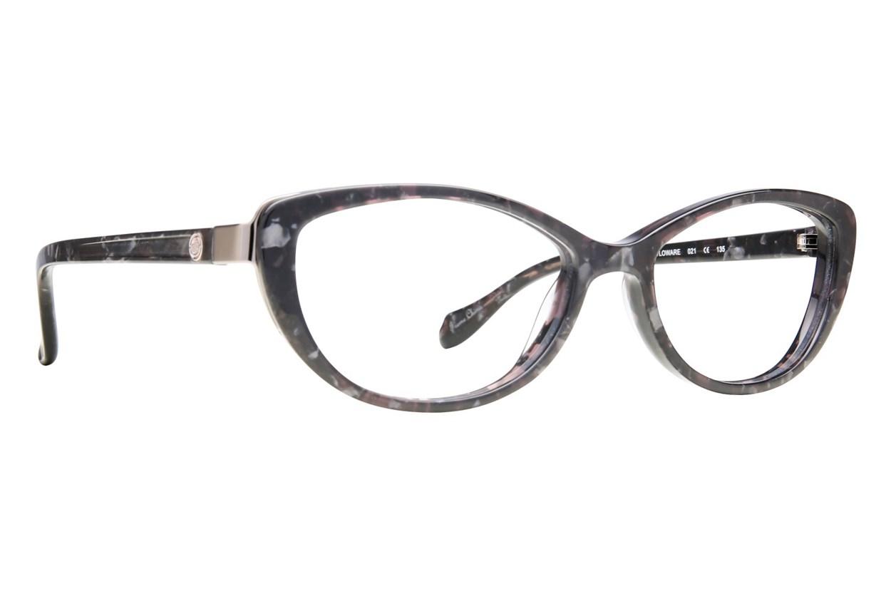 Leon Max LM 4010 Black Eyeglasses