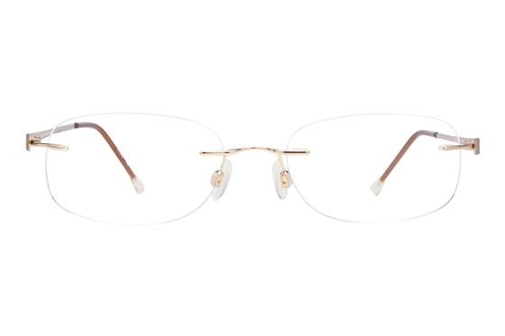Invincilites Zeta R Gold Eyeglasses