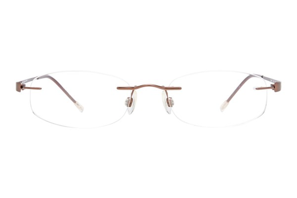 Invincilites Zeta V Brown Eyeglasses
