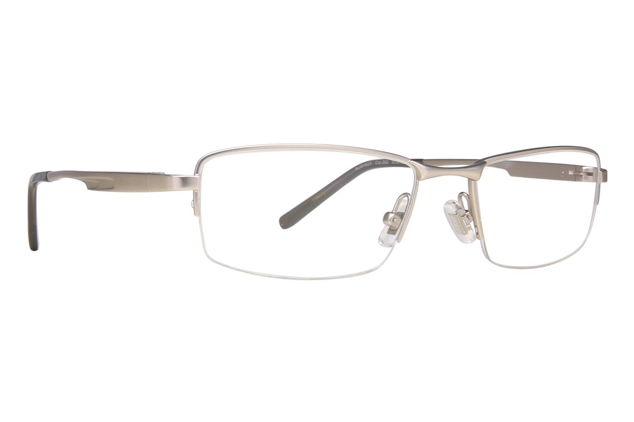 NASCAR N25 Silver Eyeglasses