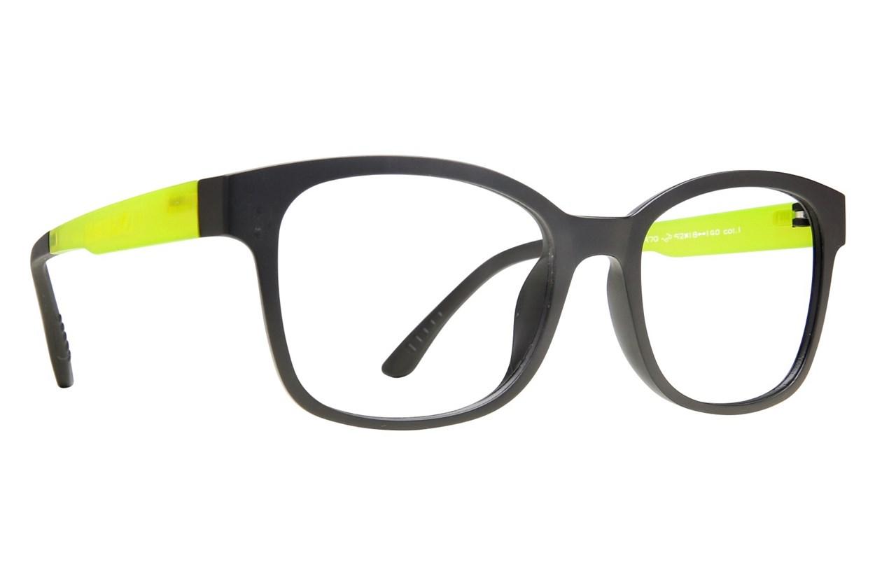 Eyecroxx EC40UL 370 Black Eyeglasses
