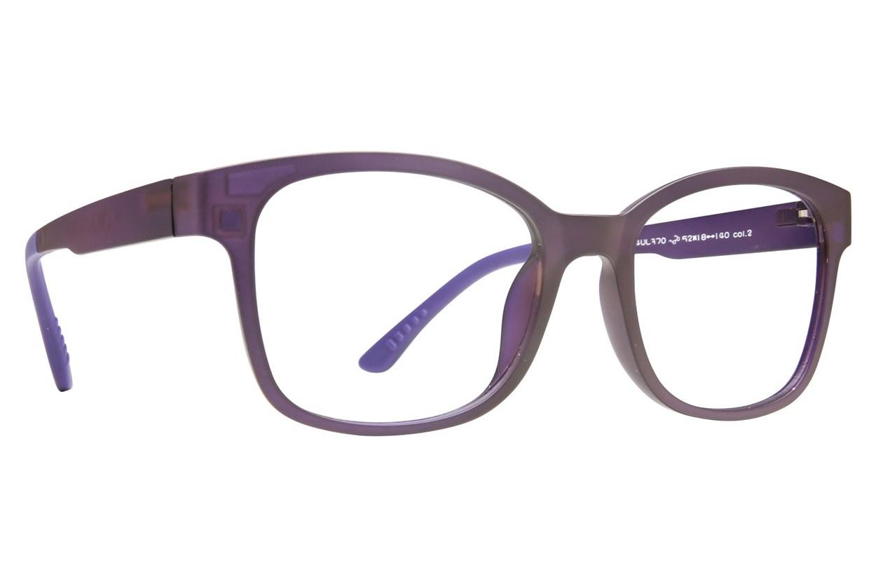 Eyecroxx EC40UL 370 Purple Eyeglasses