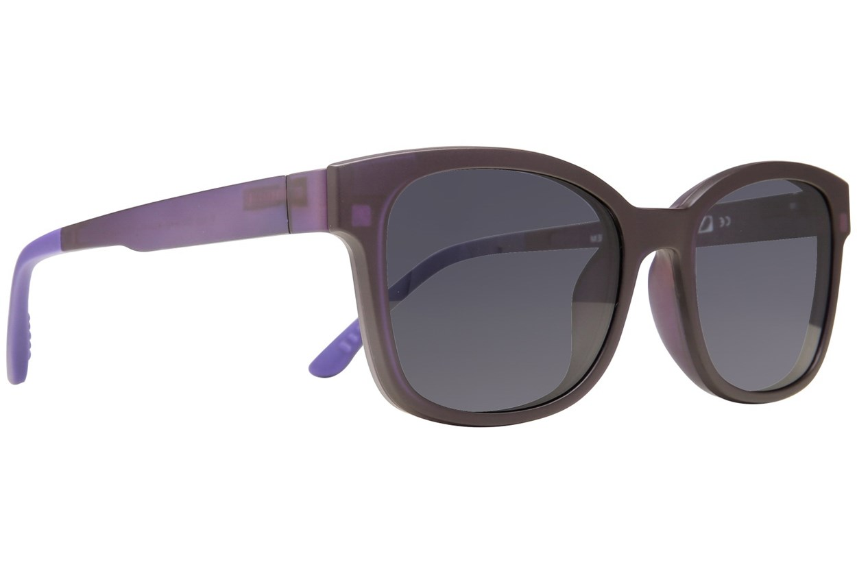 Alternate Image 1 - Eyecroxx EC40UL 370 Purple Eyeglasses