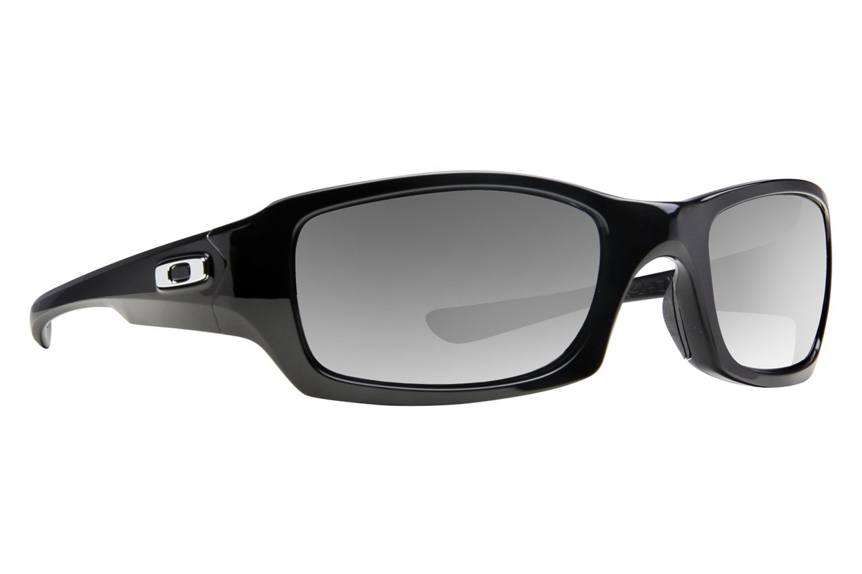 Oakley Fives Squared Iridium Polarized Black Sunglasses