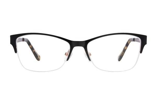 Kensie Girl Bliss Black Eyeglasses