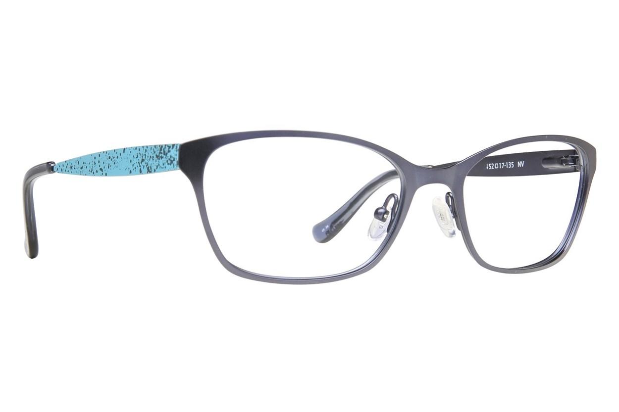 Kensie Bubbly Blue Eyeglasses