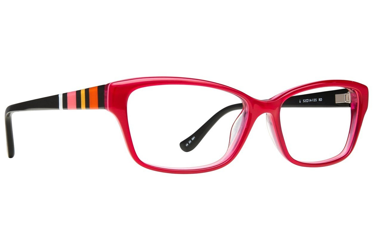Kensie Happy Eyeglasses - Red