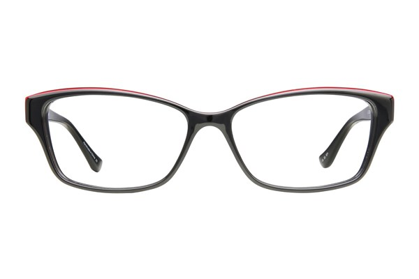 Kensie Happy Eyeglasses - Black