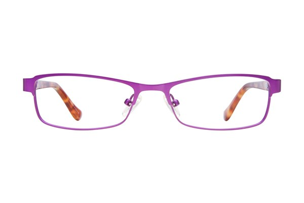 Kensie Girl Bright Purple Eyeglasses