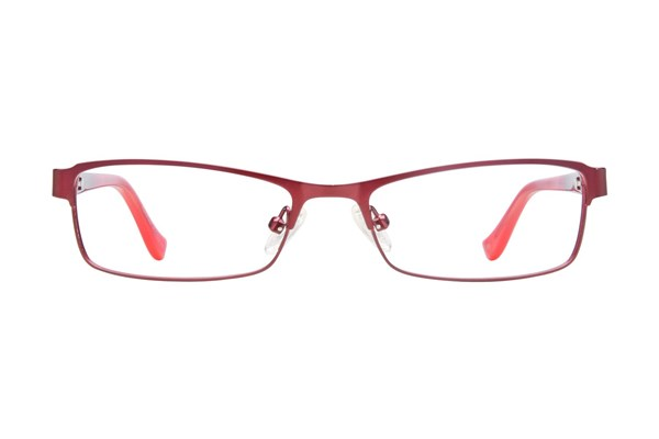 Kensie Girl Bright Red Eyeglasses
