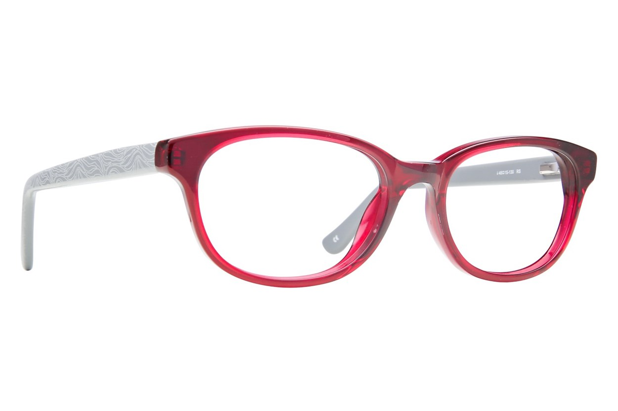 Kensie Girl Star Red Eyeglasses