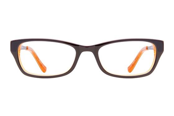 Kensie Girl Painter Brown Eyeglasses