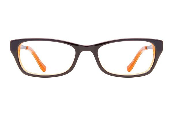 Kensie Girl Painter Eyeglasses - Brown