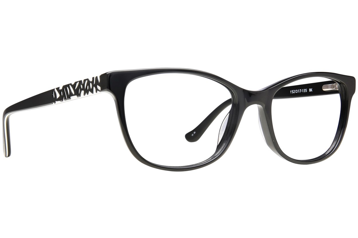 Kensie Positivity Black Eyeglasses