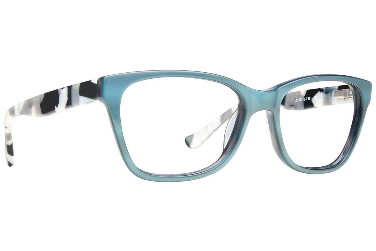 Kensie Statement Green Eyeglasses