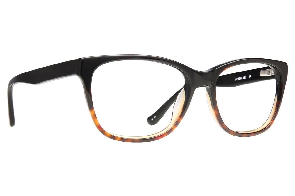 Kensie Statement Black Eyeglasses