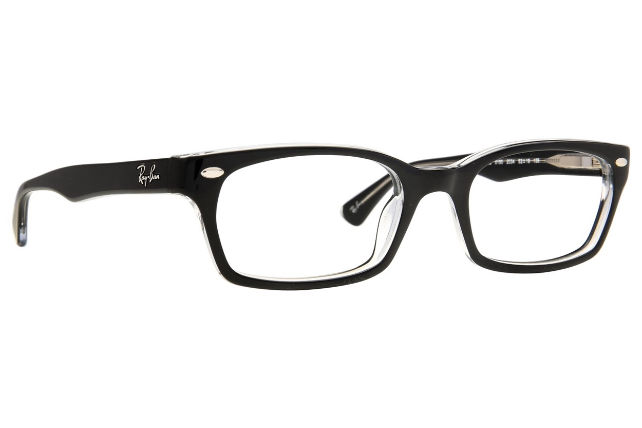 Ray-Ban® RX5150 Eyeglasses - Black