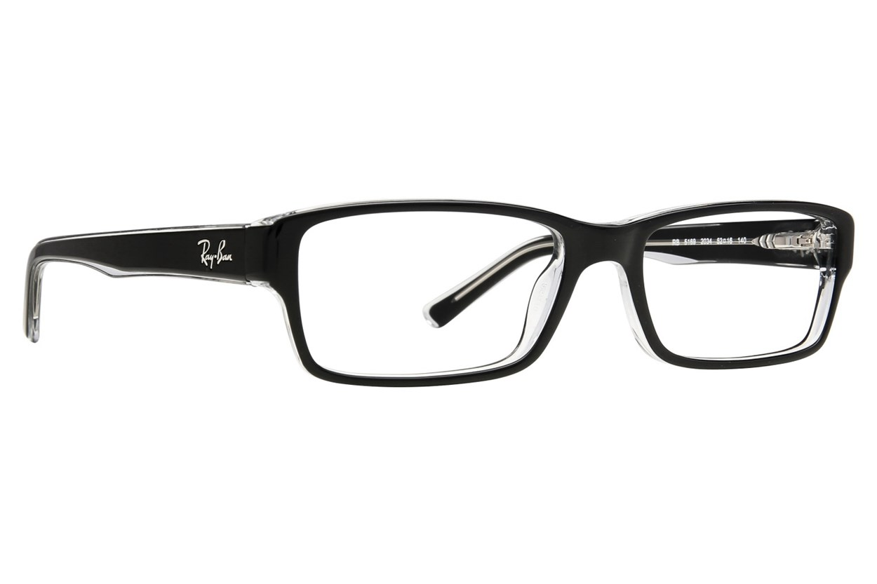 Ray-Ban® RX5169 Black Eyeglasses