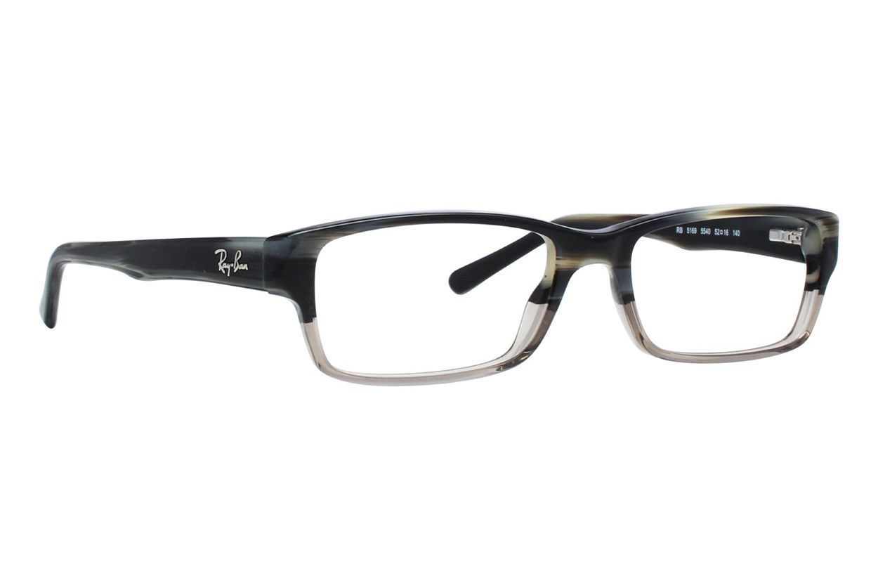 Ray-Ban® RX5169 Gray Eyeglasses