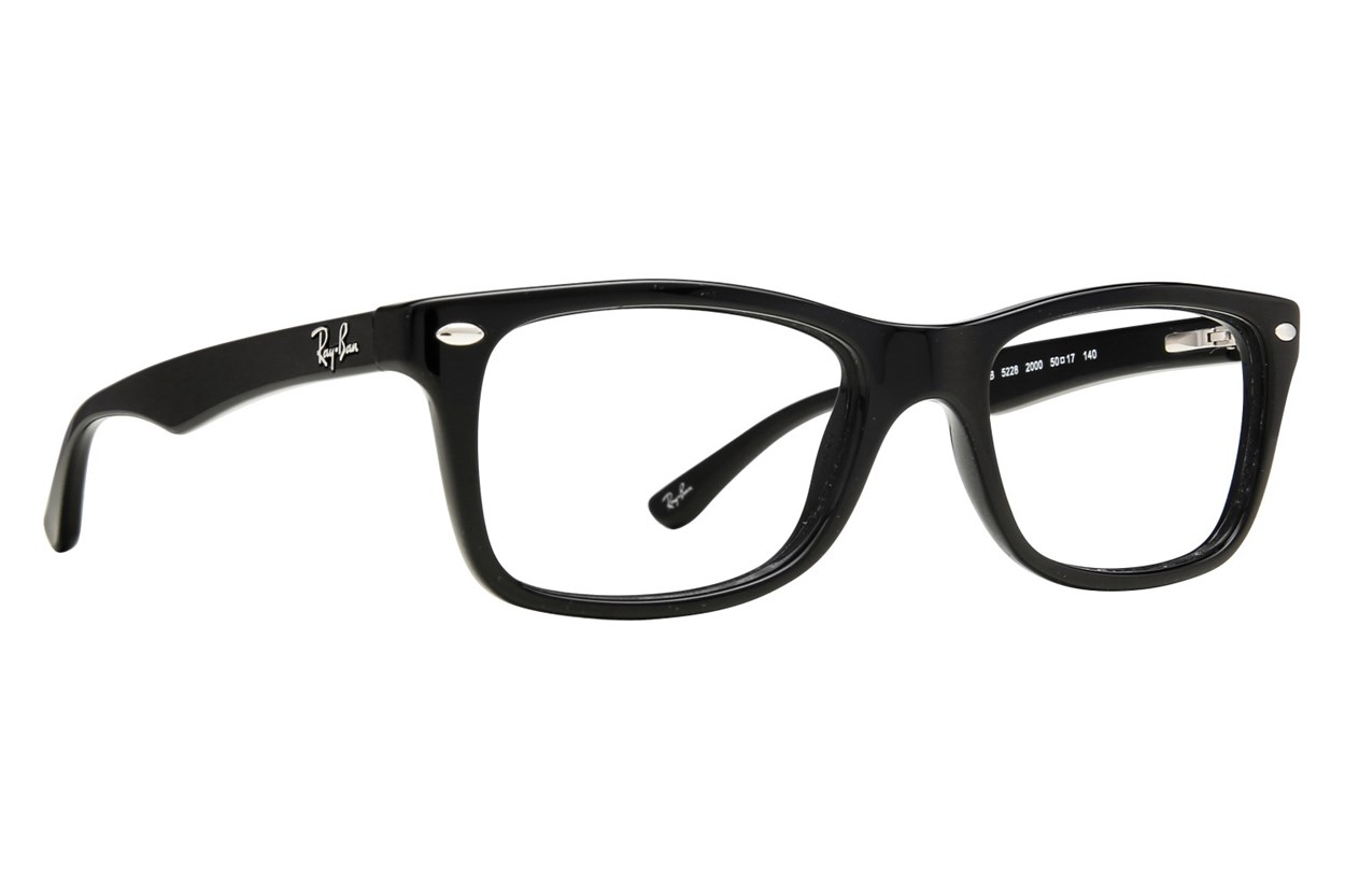 Ray-Ban® RX5228 Black Eyeglasses
