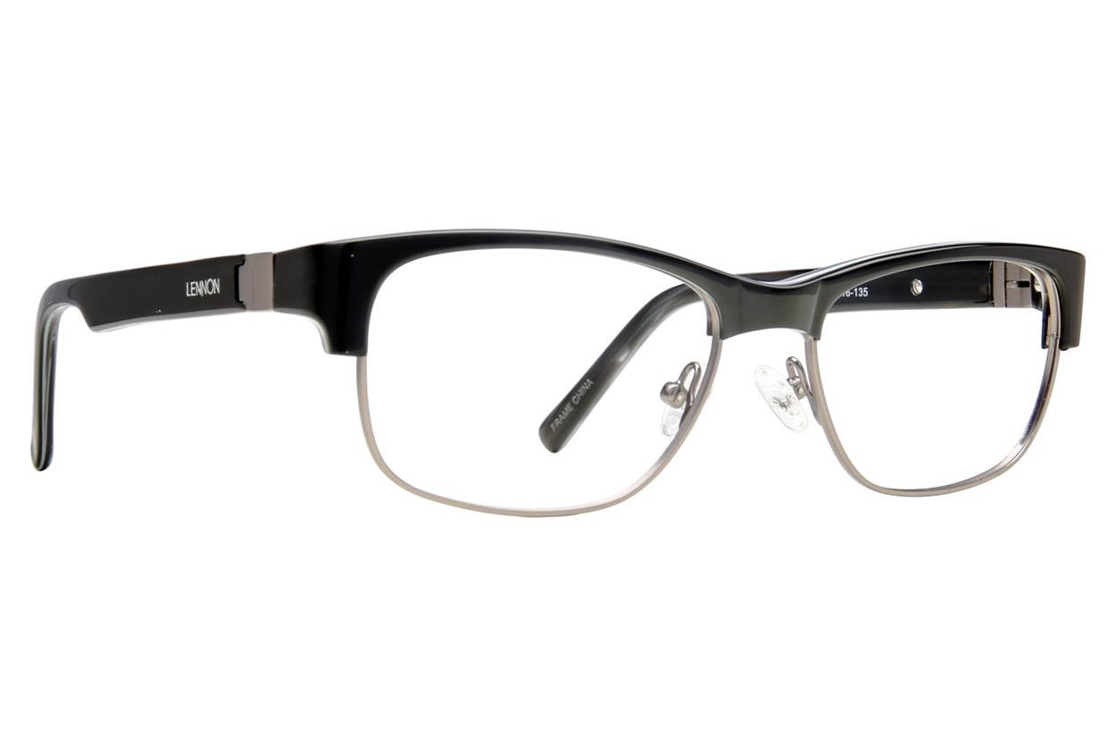 Lennon L3001 Black Eyeglasses