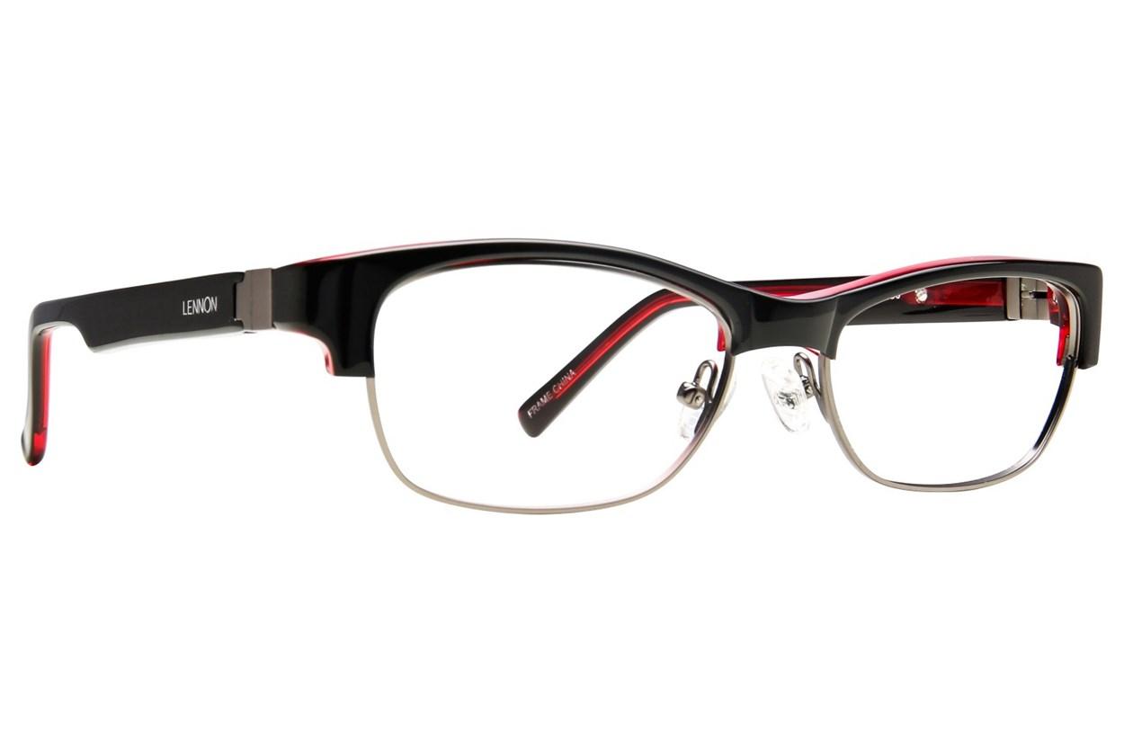 Lennon L3002 Black Eyeglasses