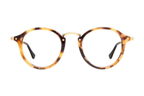 Ray-Ban® RX2447V Brown Eyeglasses