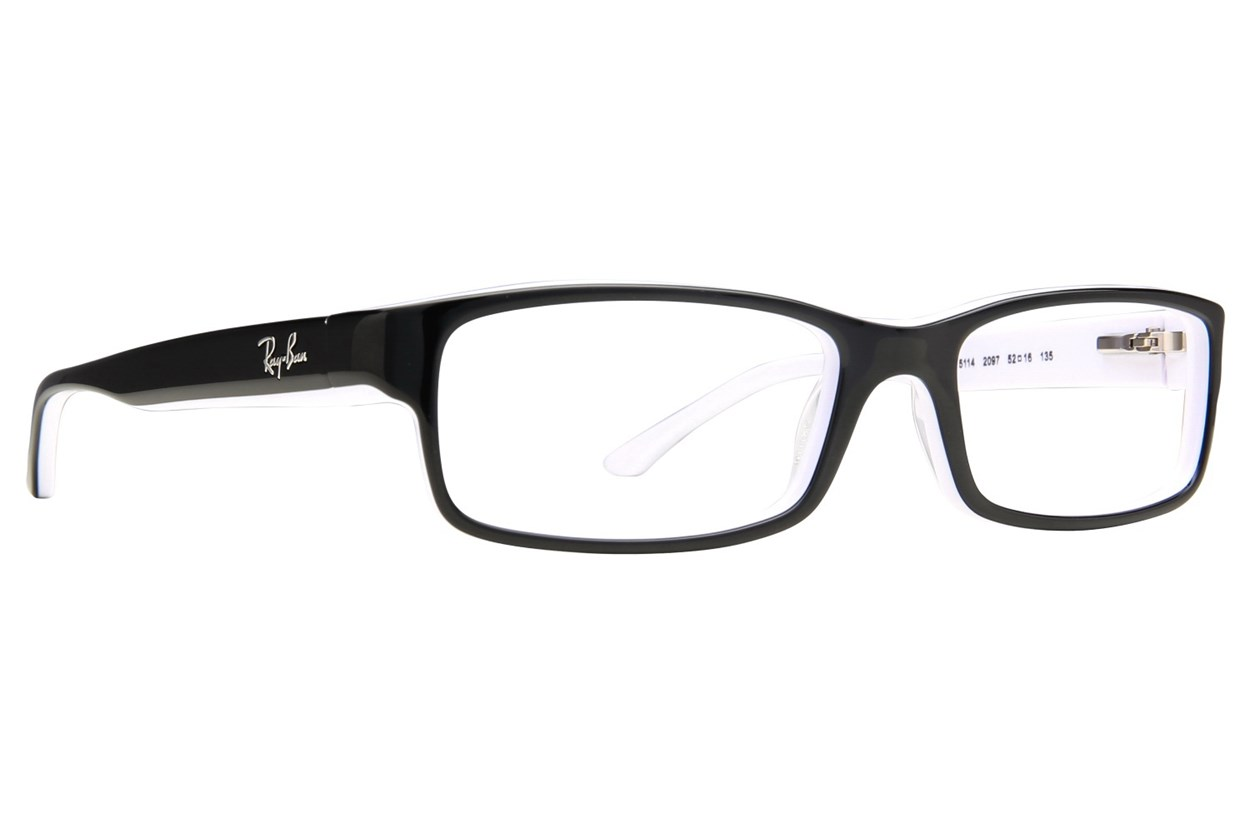 Ray-Ban® RX5114 Eyeglasses - Black